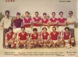 Equipa do CCRC de 1981